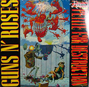 Guns N' Roses. Title. Appetite For Destruction (Original Cover)